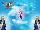 Fate - Stay Night - Saber & Kid